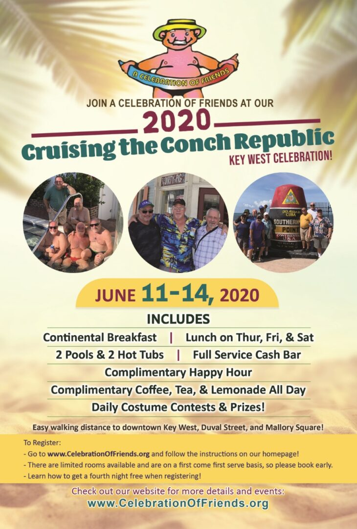 Cruising the Conch Republic Flyer, Key West