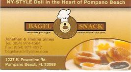 Bagel Snack